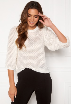 Happy Holly Chelsia furry top Offwhite 52/54
