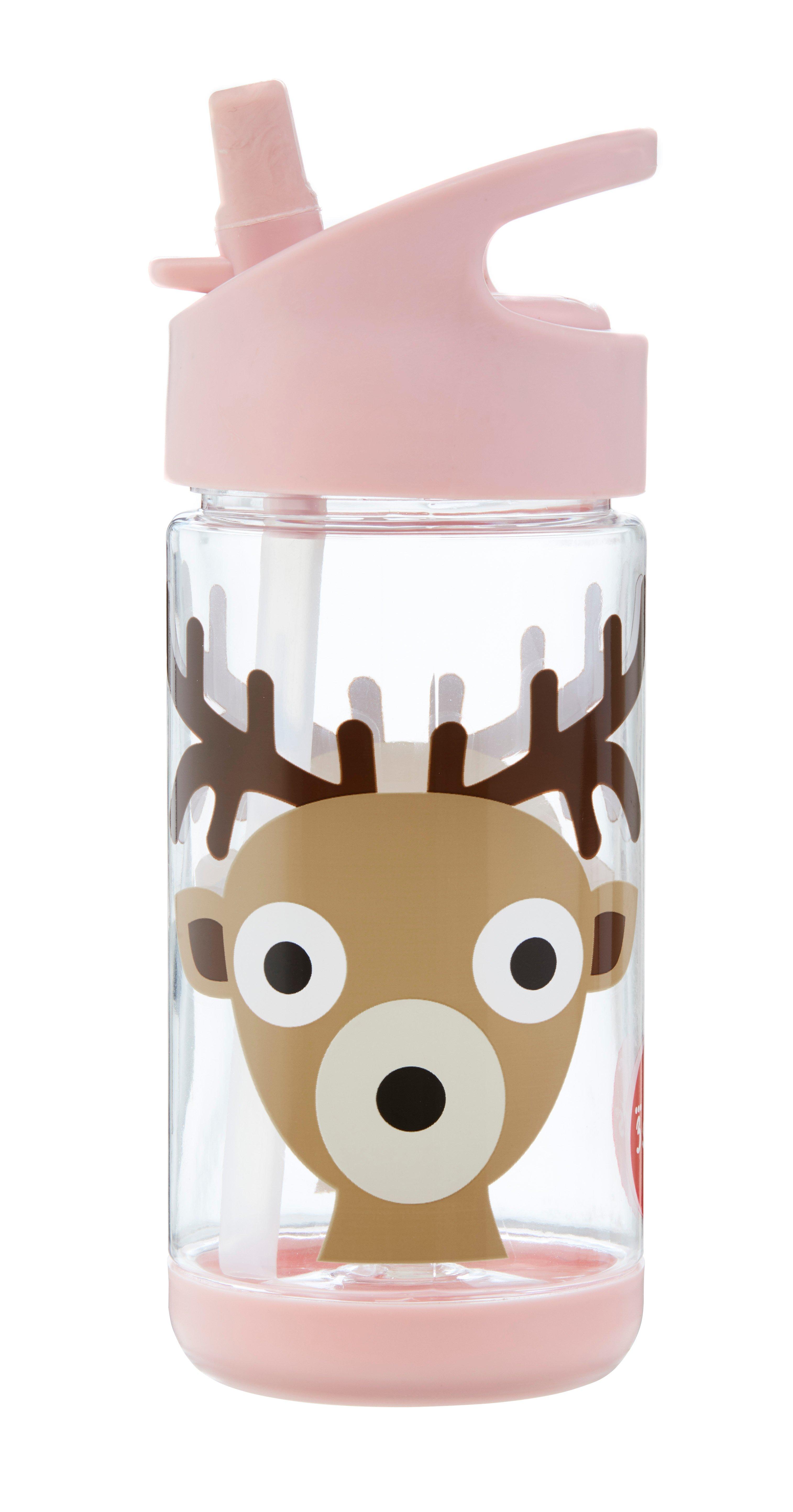 3 Sprouts - Water Bottle - Pink Deer