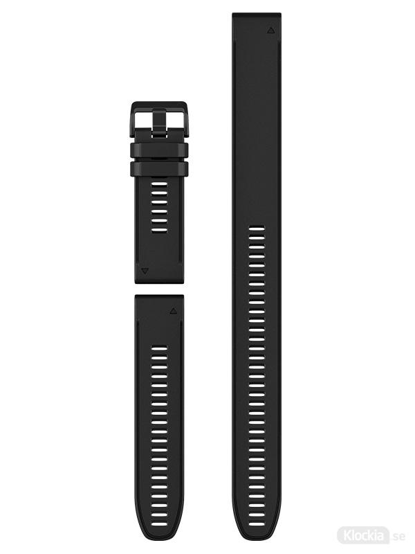 Garmin Armband 26mm QuickFit Black Silicone (3-piece Set) 010-12907-00