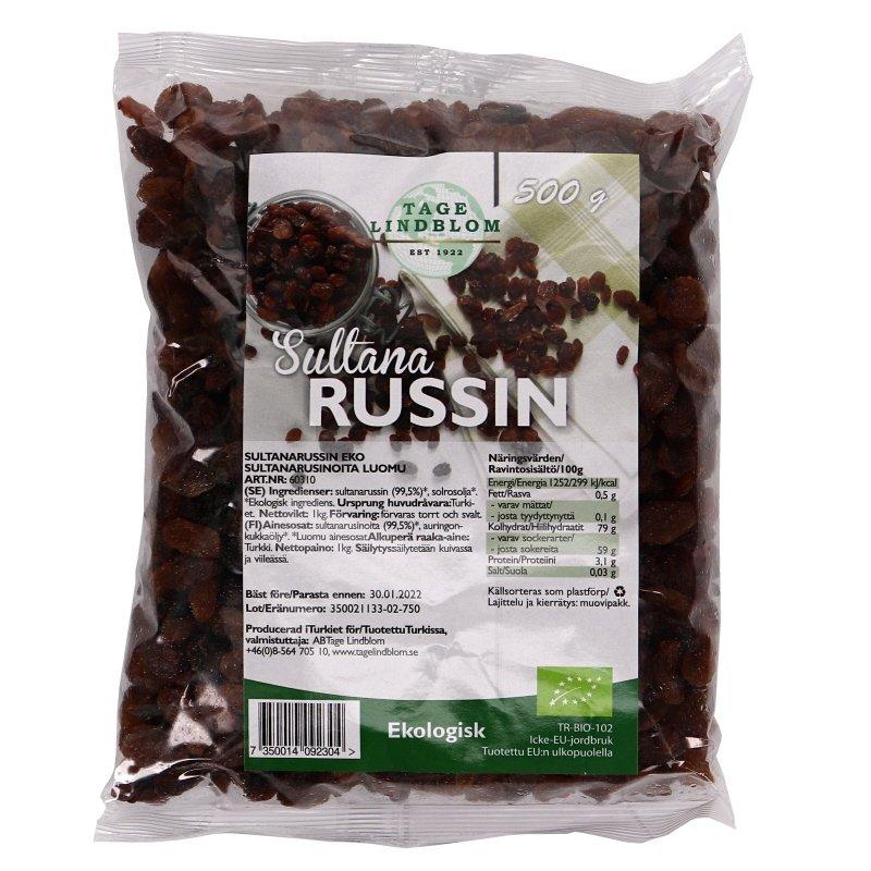 Luomu Rusinoita - 15% alennus