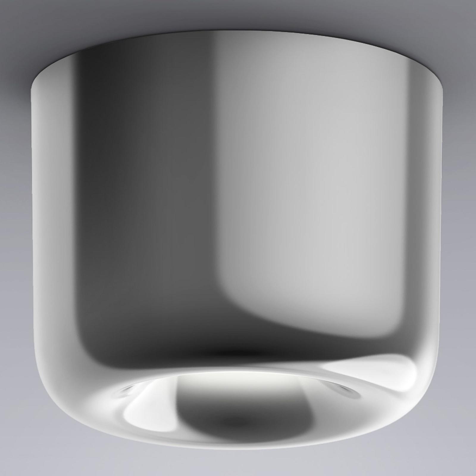 serien.lighting Cavity Ceiling L kiiltävä alumiini