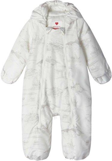 Reima Moomin Babydress, Dalen Off White, 56
