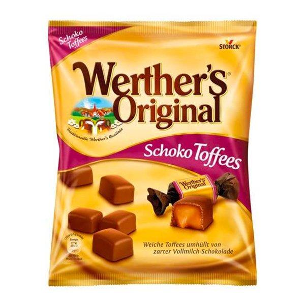 Werther's Original Soft Chocolate Toffees - 120 gram