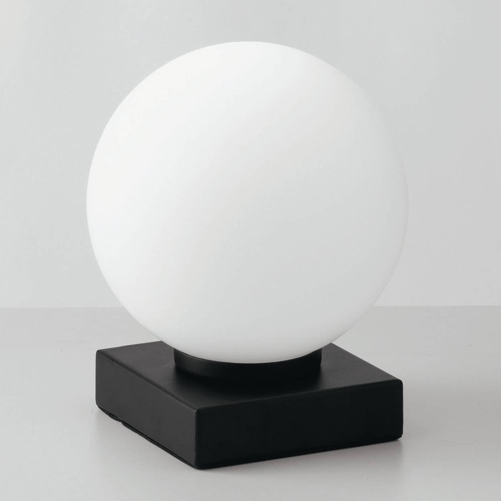 Bordlampe Enoire i svart og hvit, 1 lyskilde
