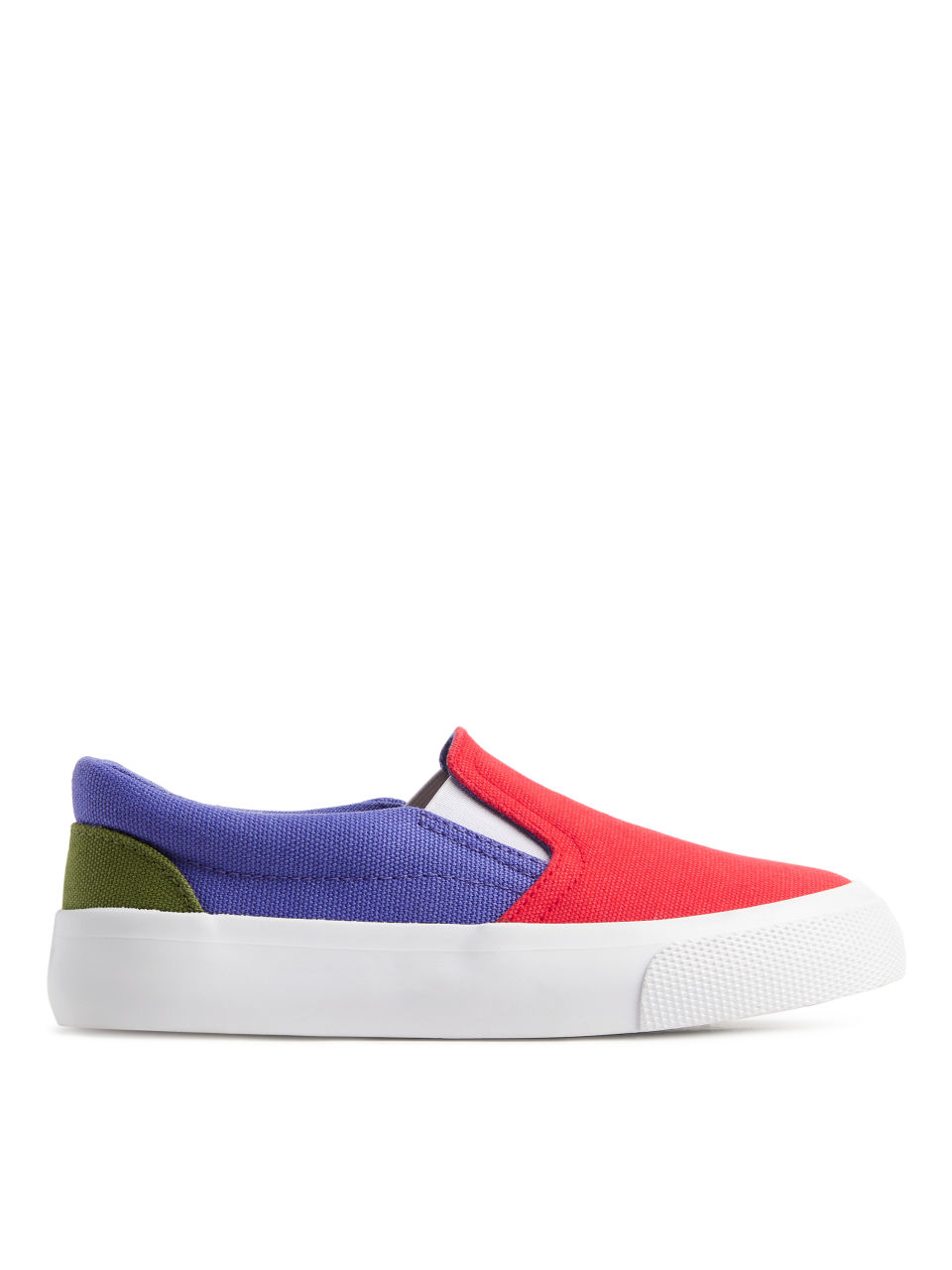Slip-On Trainers - Red