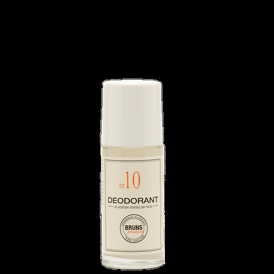 Bruns Deodorant Klassisk Engelsk Ros nr 10, 60 ml