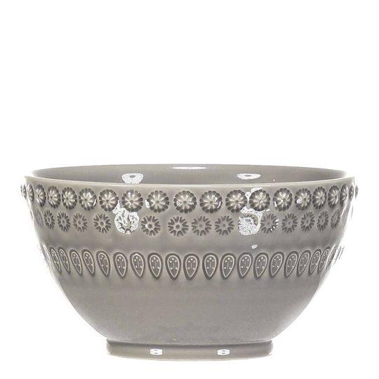 PotteryJo - Daisy Skål 14 cm Soft Grey