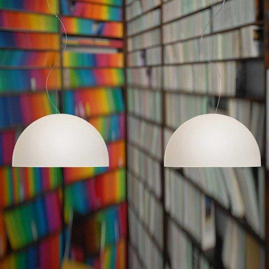 Kaksilamppuinen BOWL-riippuvalaisin, 35 cm