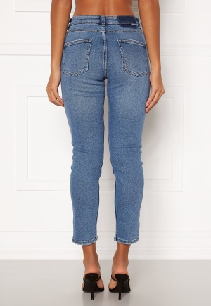 ONLY Erica Life Mid ST Ankle Jeans Light Blue Denim M/30