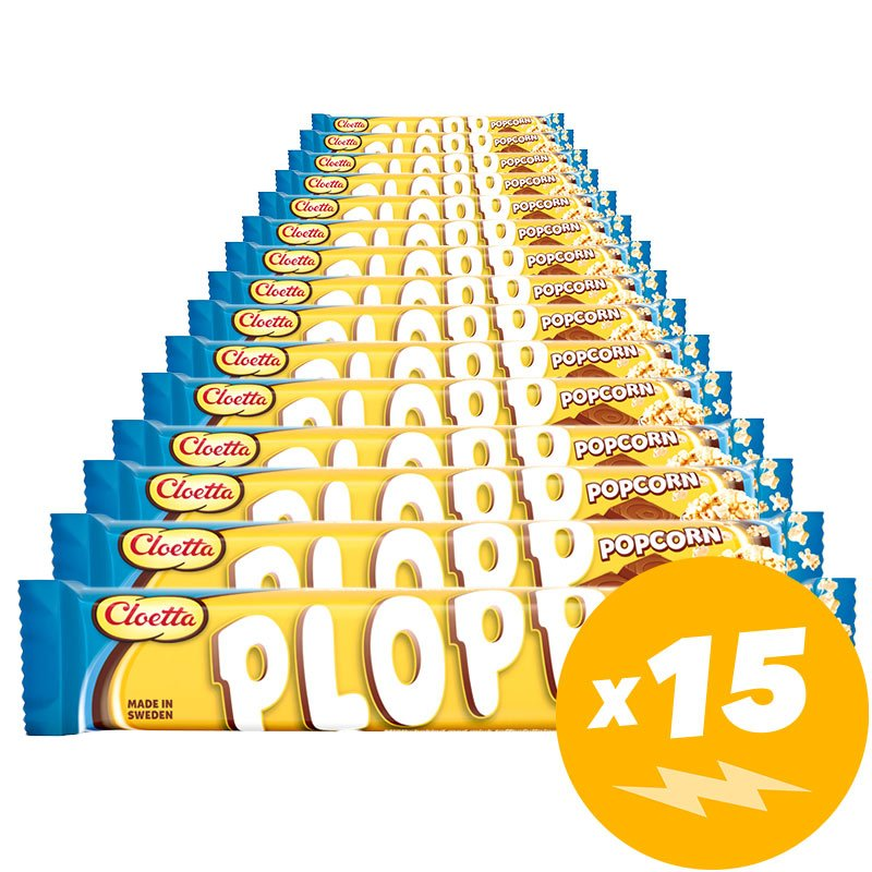 Plopp Popcorn 15-pack - 51% rabatt