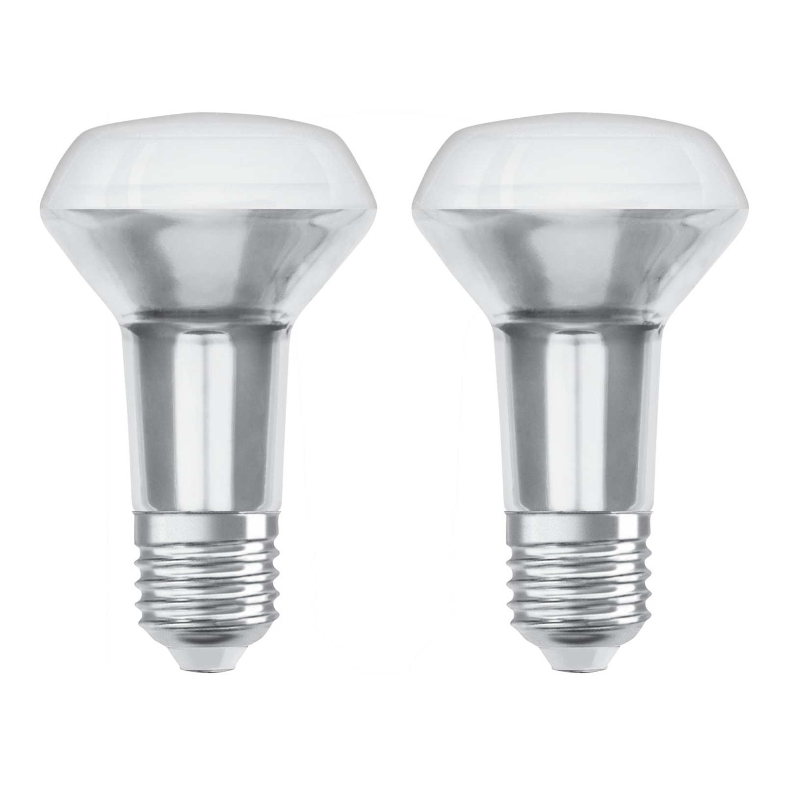 OSRAM-LED-heljastin E27 3,3W 2 700 K 36° 2 kpl
