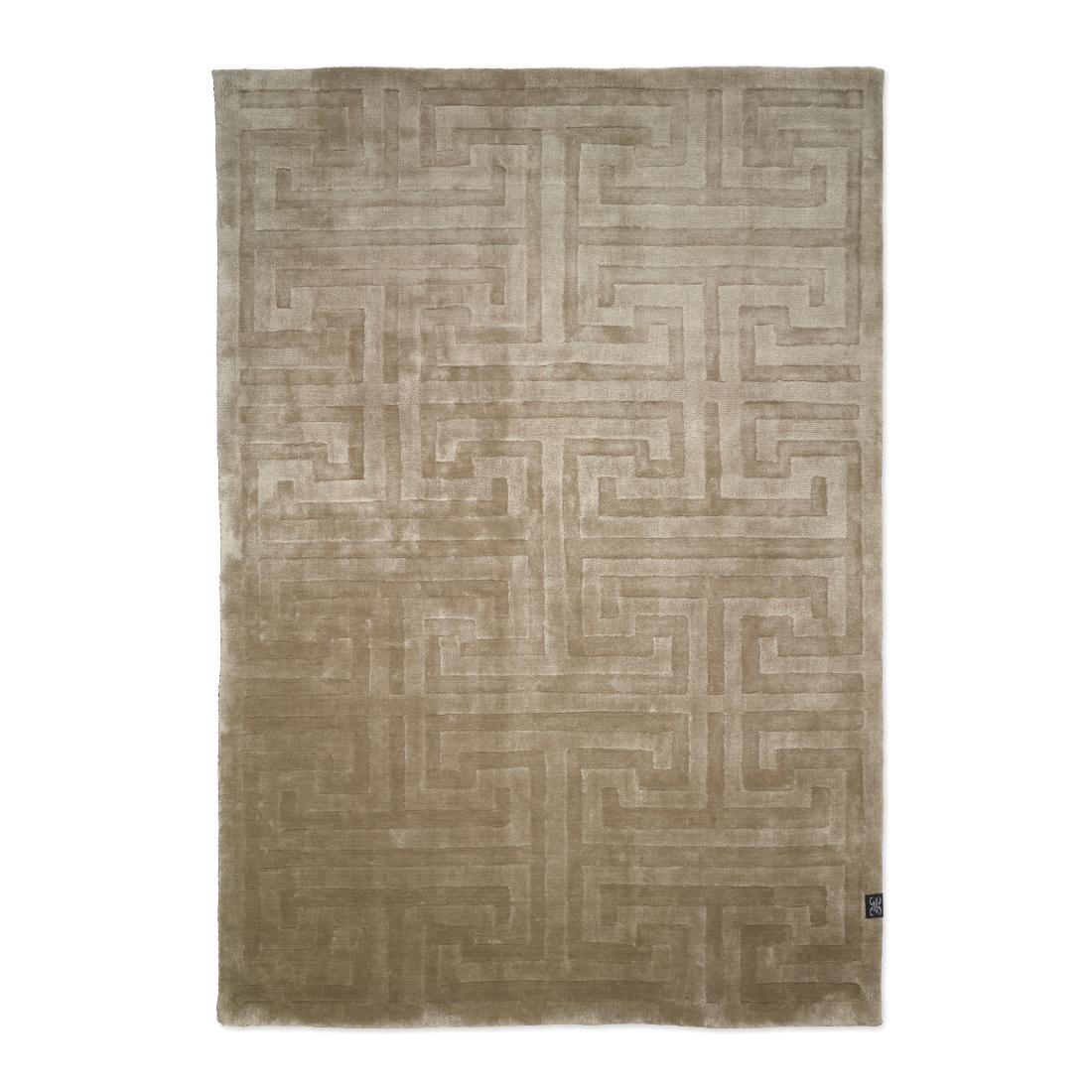 Viskosmatta KEY taupe 170 x 230 cm, Classic Collection