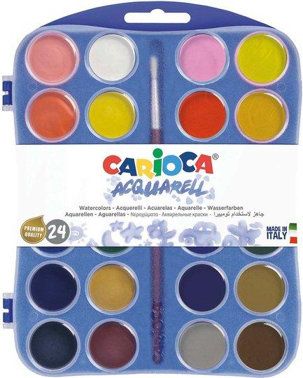 Carioca Vannfarger 24 Stk