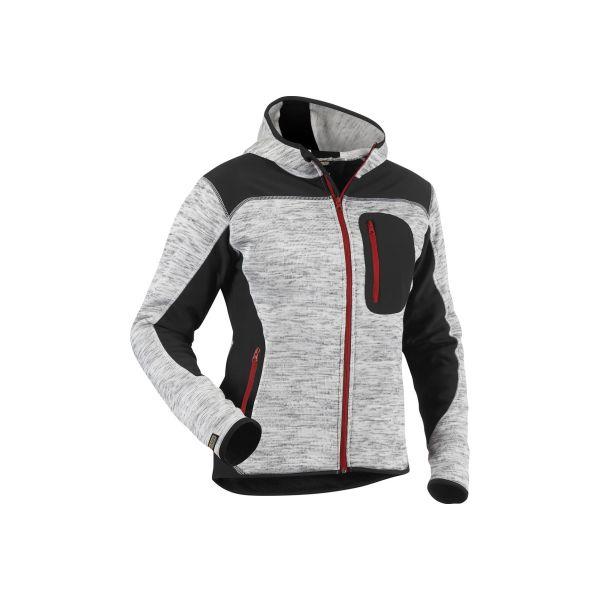Blåkläder 493121179099L Jacka antracitgrå/svart, stickad Stl XL