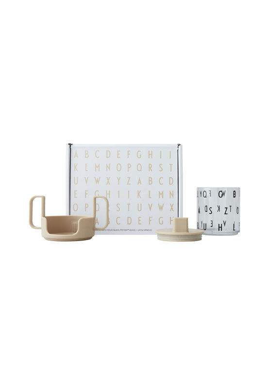 Design Letters - Grow With Your Cup Tritan Prepacked Gift Box - Beige (20103008BEIGE)