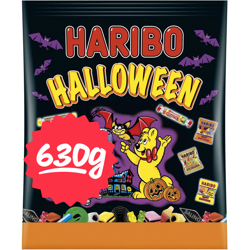 Godispåse Halloween 630g - 64% rabatt
