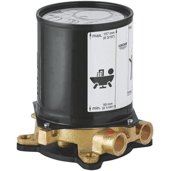 Grohe 45984001 Innbyggingsdel for gulvbatteri