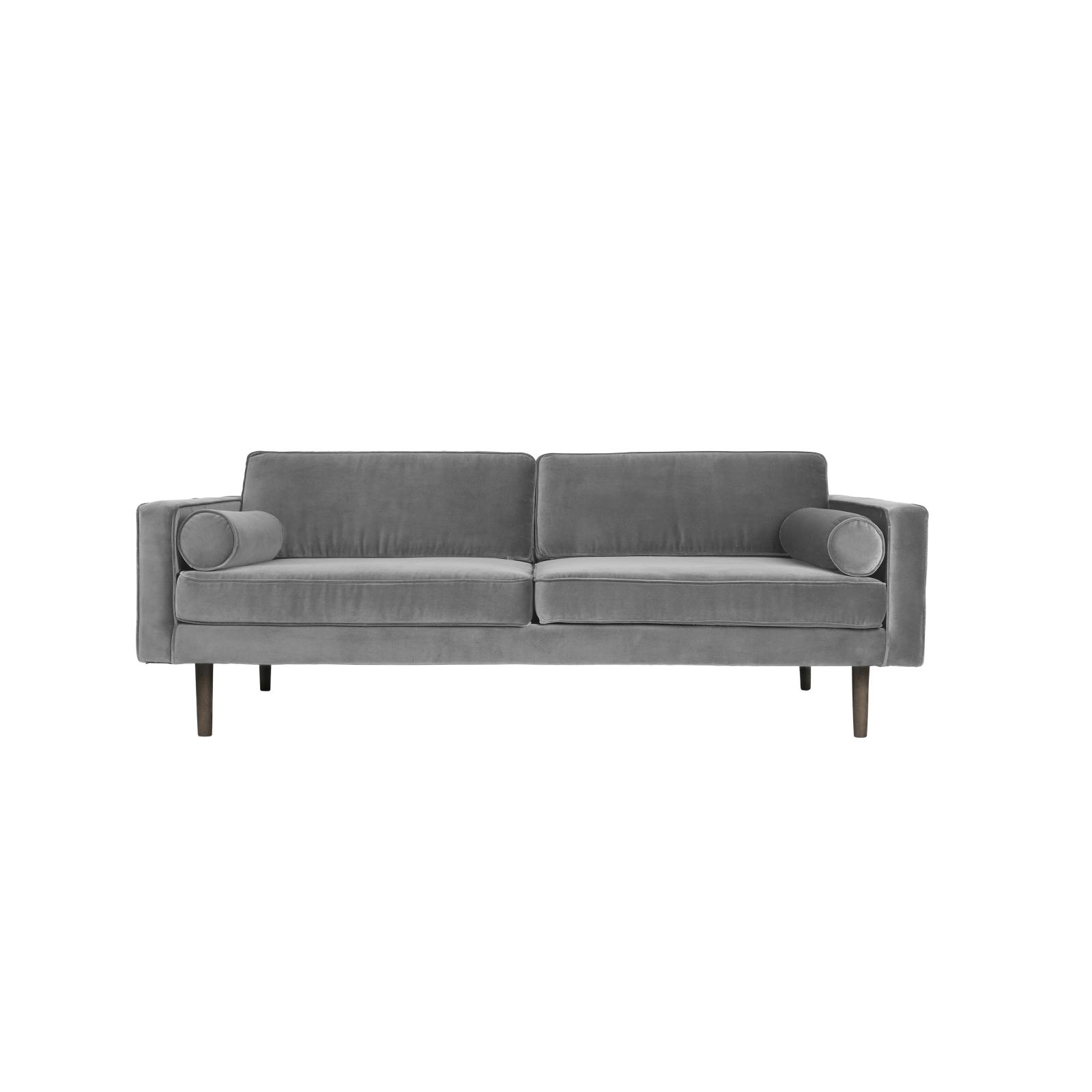 Soffa grå sammet WIND, Broste Copenhagen