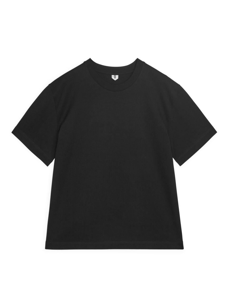 Oversized Heavyweight T-shirt - Black