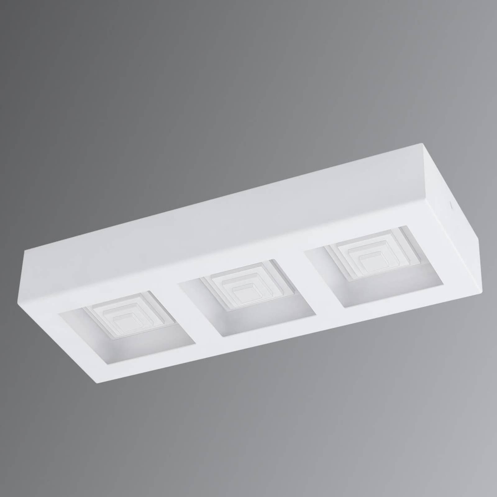 Ferreros - LED-taklampe 3 lyskilder i hvit