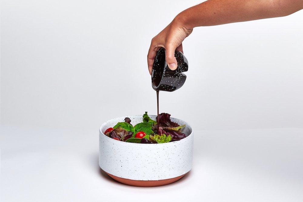 Eclipse - Snack Bowl Set - Large (White/Black) (DYECLIBBW)