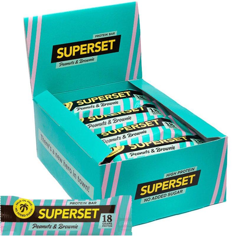 Proteinbar Jordnöt & Brownie 12-pack - 36% rabatt