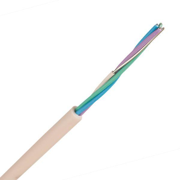 Nexans EQQXB EASY Telekabel 1 m, hvit 1x4x0,5 mm