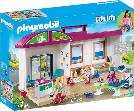 Playmobil 70146 Veterinærklinikk