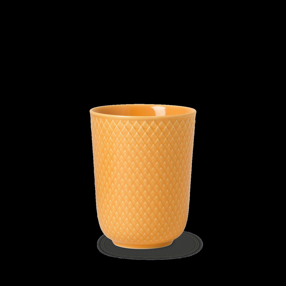 Lyngby Porcelæn - Rhombe Mug 33 cl - Yellow (201965)