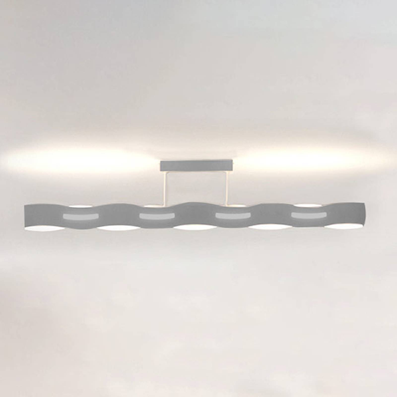LED-kattovalaisin Wave, nikkeli