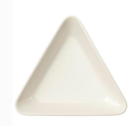 Teema Fat trekantig 12cm vit