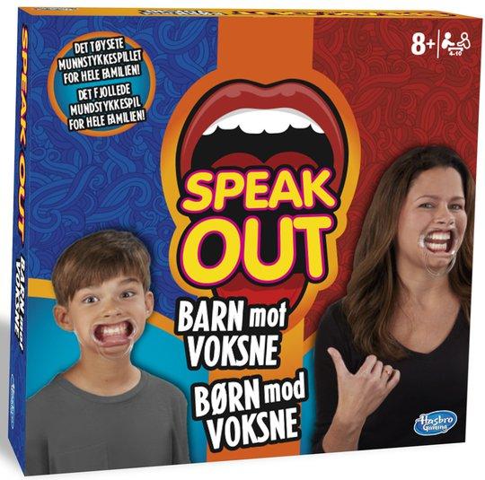 Hasbro Speak Out Barn Mot Voksne