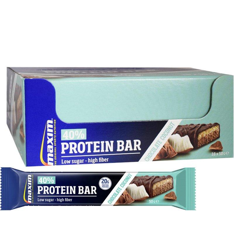 """Laatikollinen Proteiinipatukoita """"Chocolate & Coconut"""" 18 x 50g - 39% alennus"""