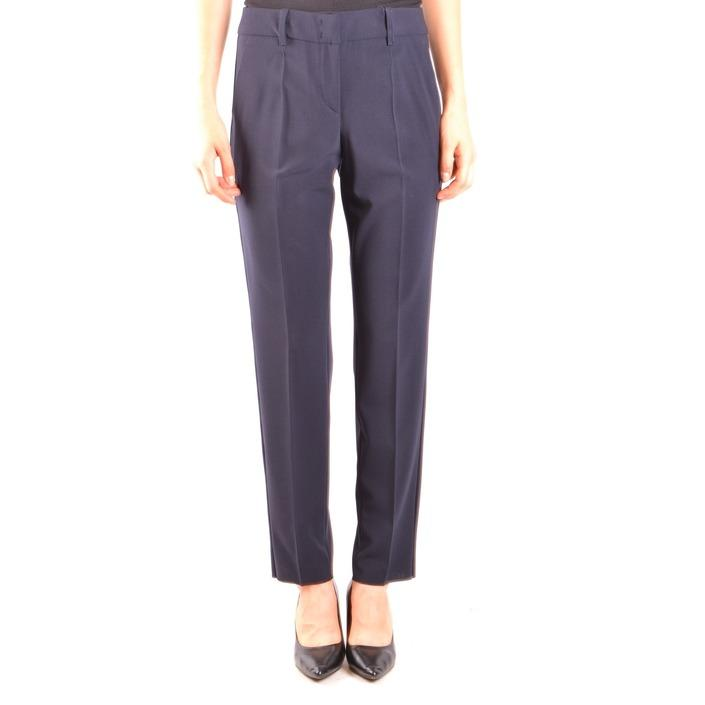 Armani Collezioni Women's Trouser Blue 164039 - blue 48