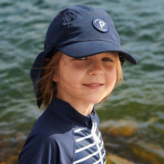 Caps som beskytter mot solen mørkblå