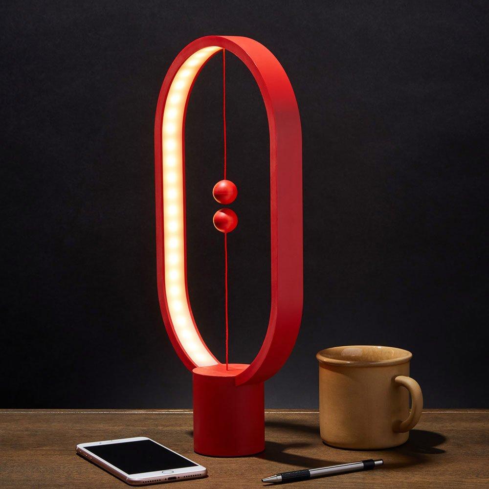 Heng Balance Lamp - Oval - Red (04931.RD)