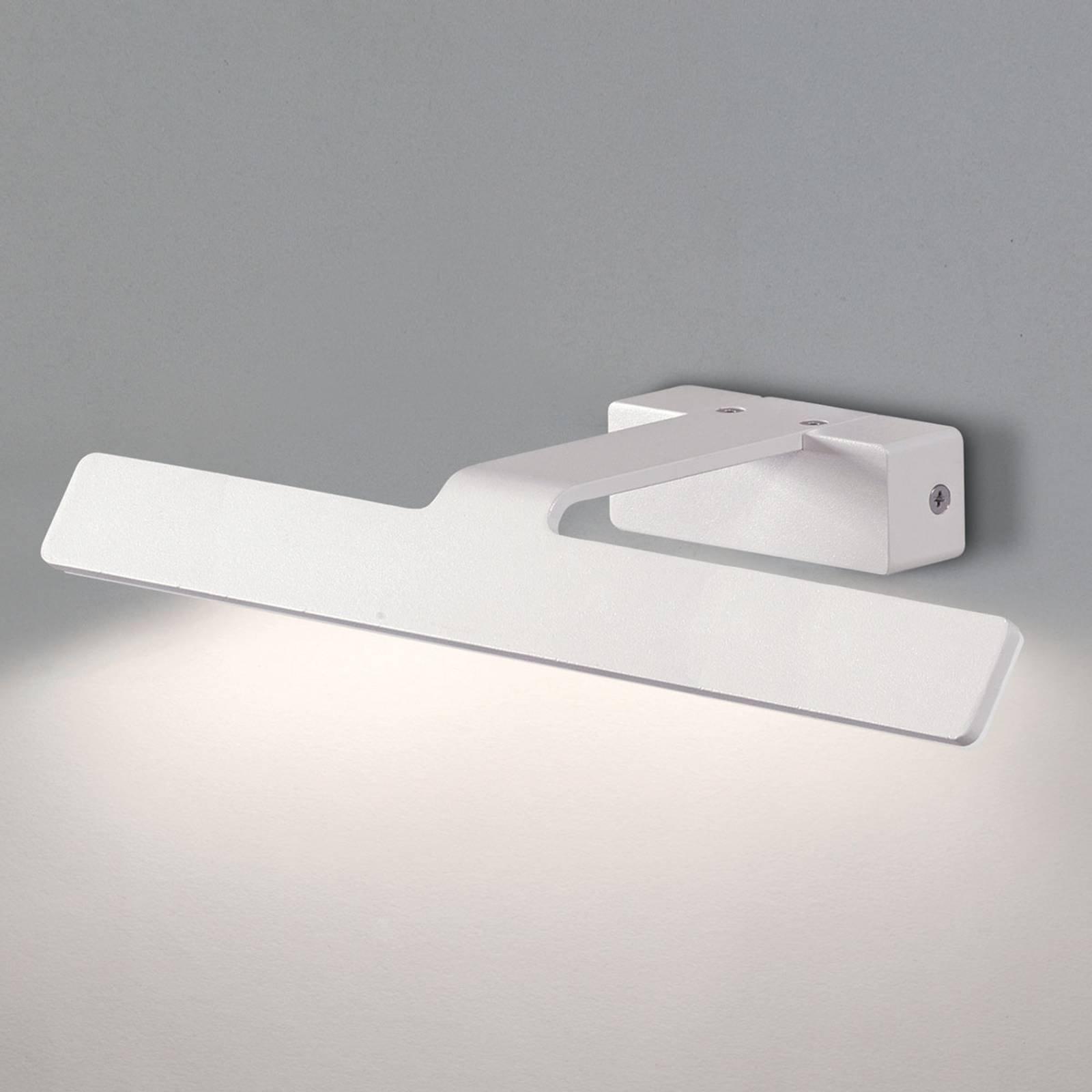 Hvitt LED-bildelampe Neus - 36 cm bred