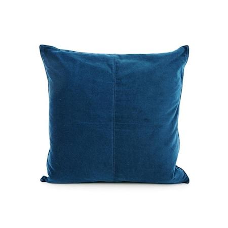 Kuddfodral Navy Blue Velvet 50x50 cm