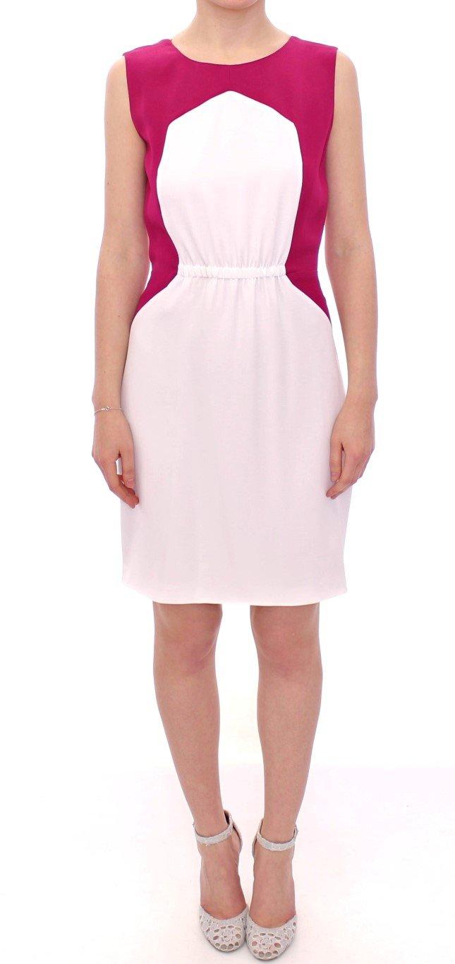 CO|TE Women's Lindsay Shift Dress White MOM10041 - IT44|L