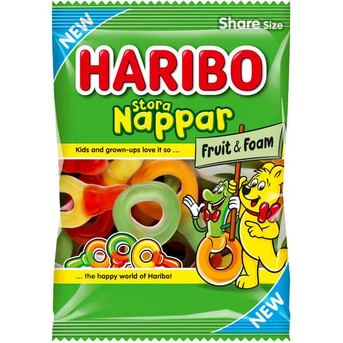 Haribo Nappar Stora 170g