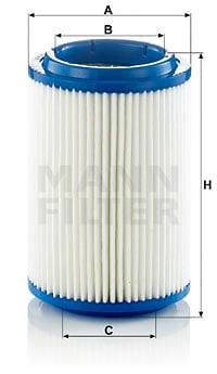 Ilmansuodatin MANN-FILTER C 16 006
