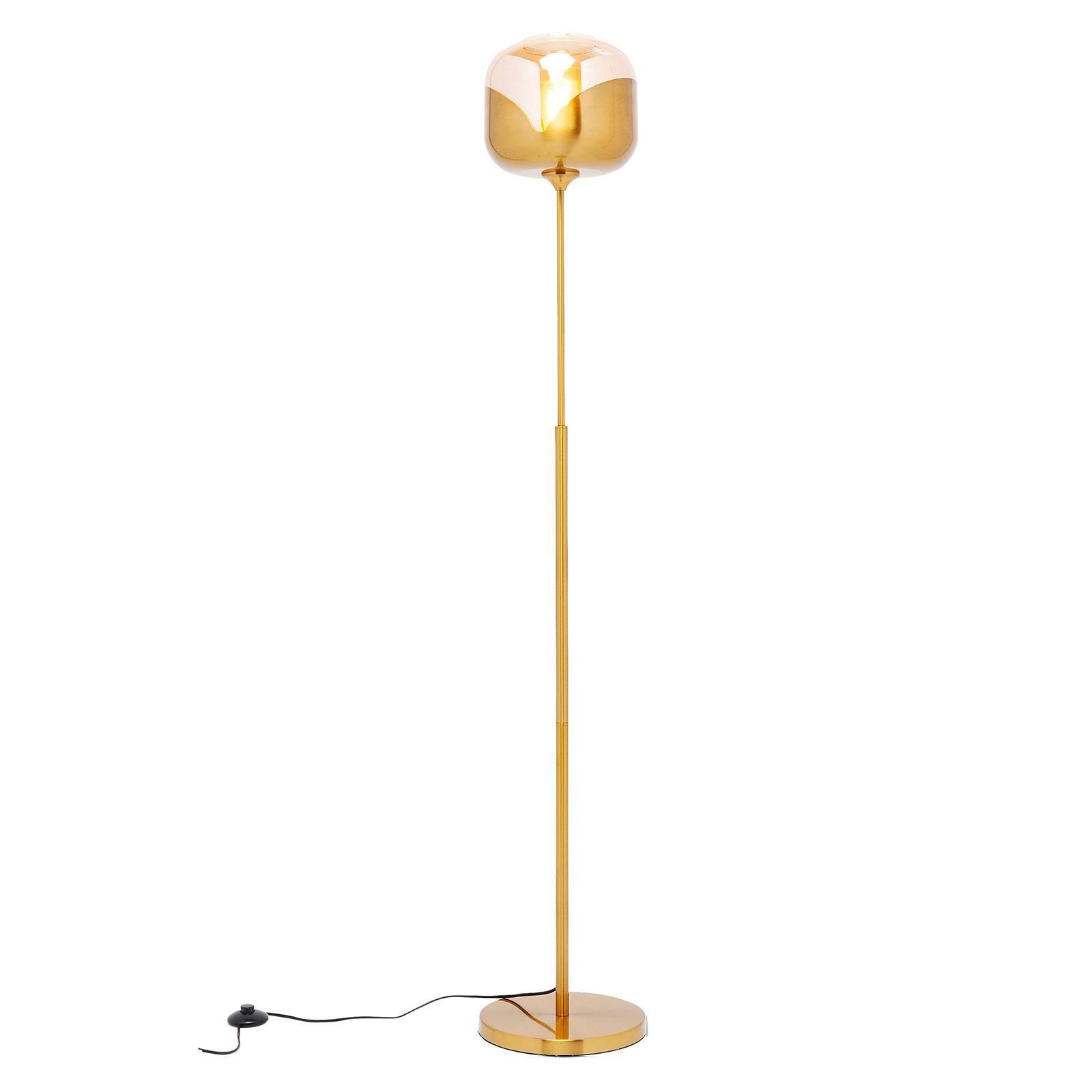 KARE Golden Goblet Ball gulvlampe, gull