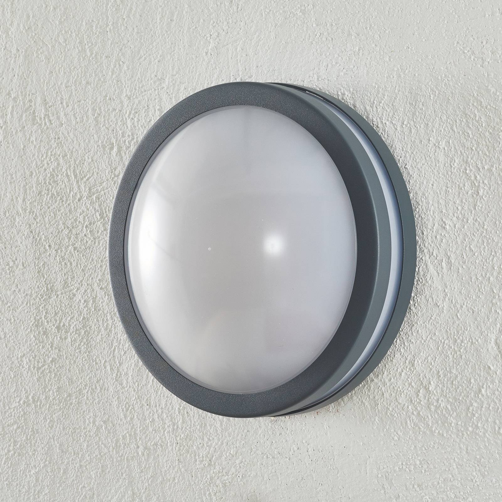 EGLO connect Locana-C LED-utevegglampe antrasitt