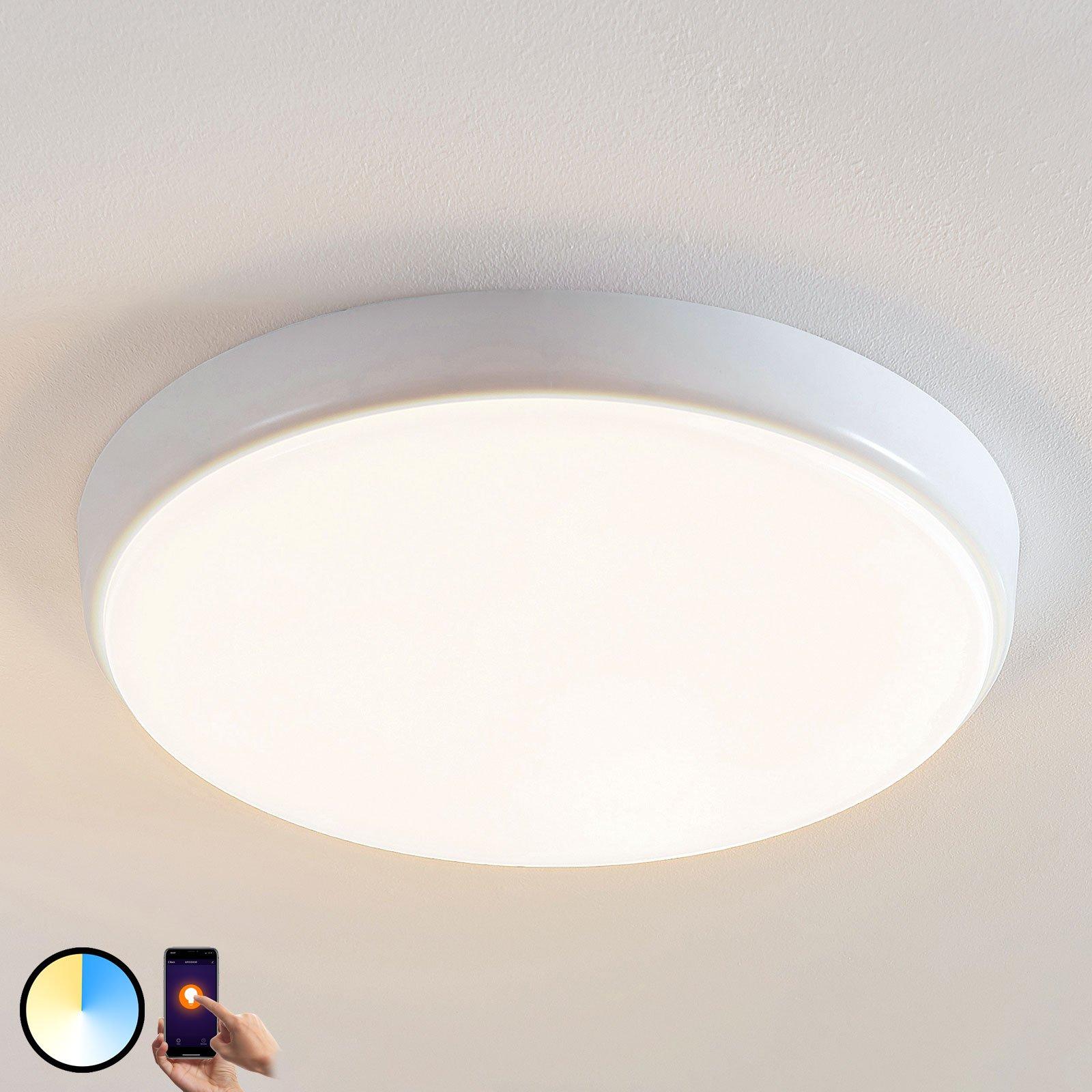 Arcchio Finn LED-taklampe, kontrollerbar, Ø 40 cm