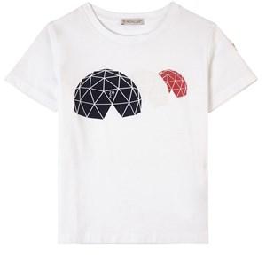 Moncler Igloo T-shirt Vit 4 år