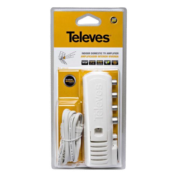 Televes 545720 Vahvistin 20 dB:n vahvistus, LTE-suodatin