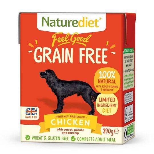 Naturediet Grain Free Kyckling (390 g)
