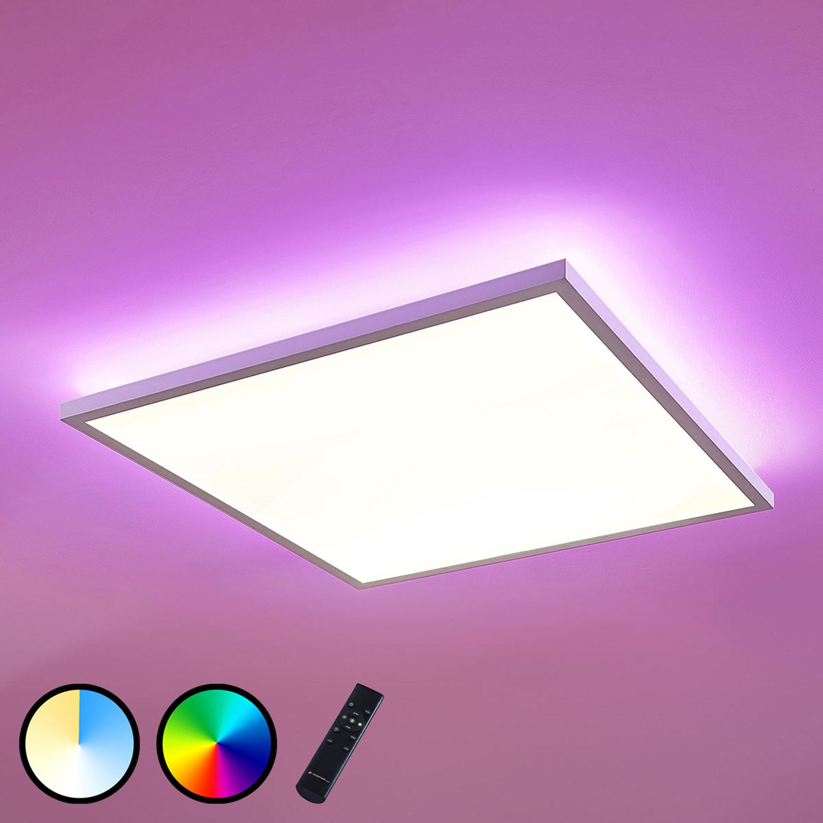 LED-paneeli Brenda CCT, kaukosäädin, 60 x 60cm