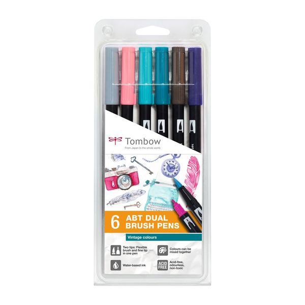 Tombow ABT Vintage Colours Brush Pens