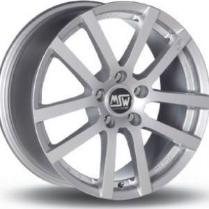 MSW 22 Silver 6.5x16 4/100 ET37 B63.3